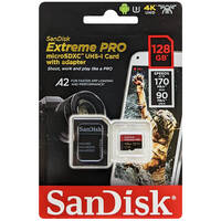 SanDisk サンディスク SDSQXCY-128G-GN6MA 並行輸入品 マイクロSDXCカード Extreme PRO 128GB