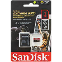 SanDisk サンディスク SDSQXCZ-1T00-GN6MA 並行輸入品 マイクロSDXCカード Extreme PRO 1TB