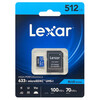 Lexar レキサー LSDMI512BB633A 並行輸入品 マイクロSDXCカード 633x 512GB
